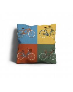 """Poduszka dekoracyjna """"rowery"""""""