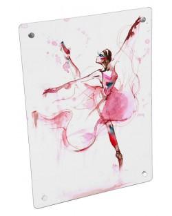 Grzejnik z nadrukiem baletnica