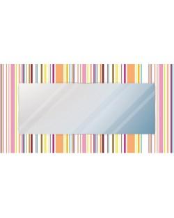 """Lustro dekoracyjne """"kolorowe linie pion"""""""
