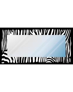 """Lustro dekoracyjne """"pasy zebra"""""""