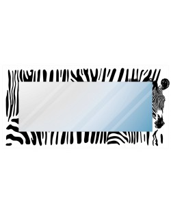 """Lustro dekoracyjne """"zebra"""""""