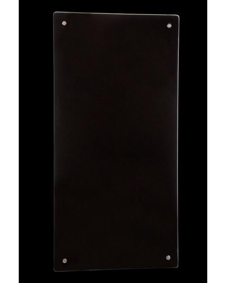 Grzejnik szklany czarne szkło