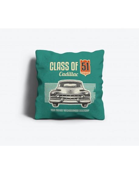 """Poduszka dekoracyjna """"vintage car"""""""