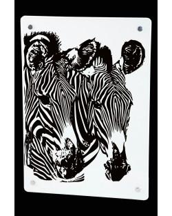Grzejnik z nadrukiem Zebra